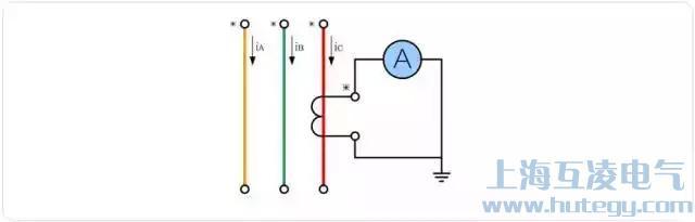 单台电流互感器接线图