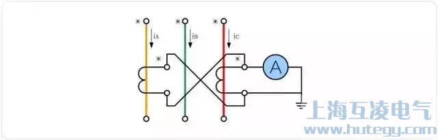 两相差电流接线形式电流互感器接线图