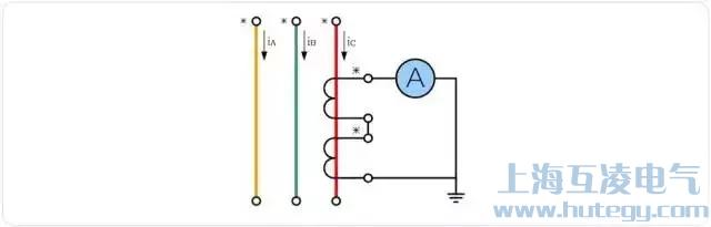 电流互感器原边串联、副边串联接线图