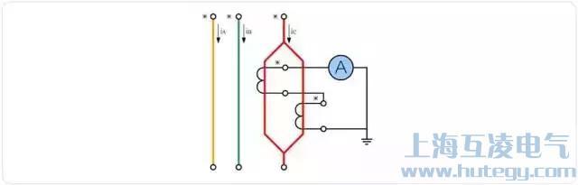 电流互感器原边并联、副边串联接线图